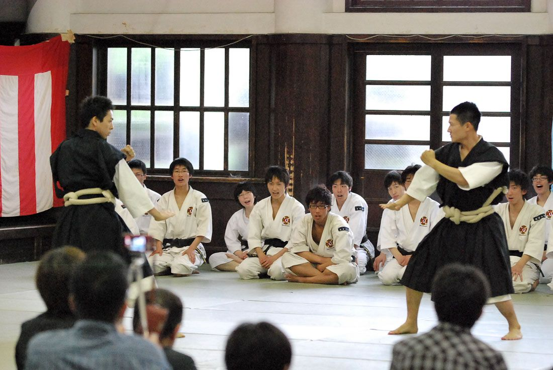 Arte marcial Shorinji Kempo Japan